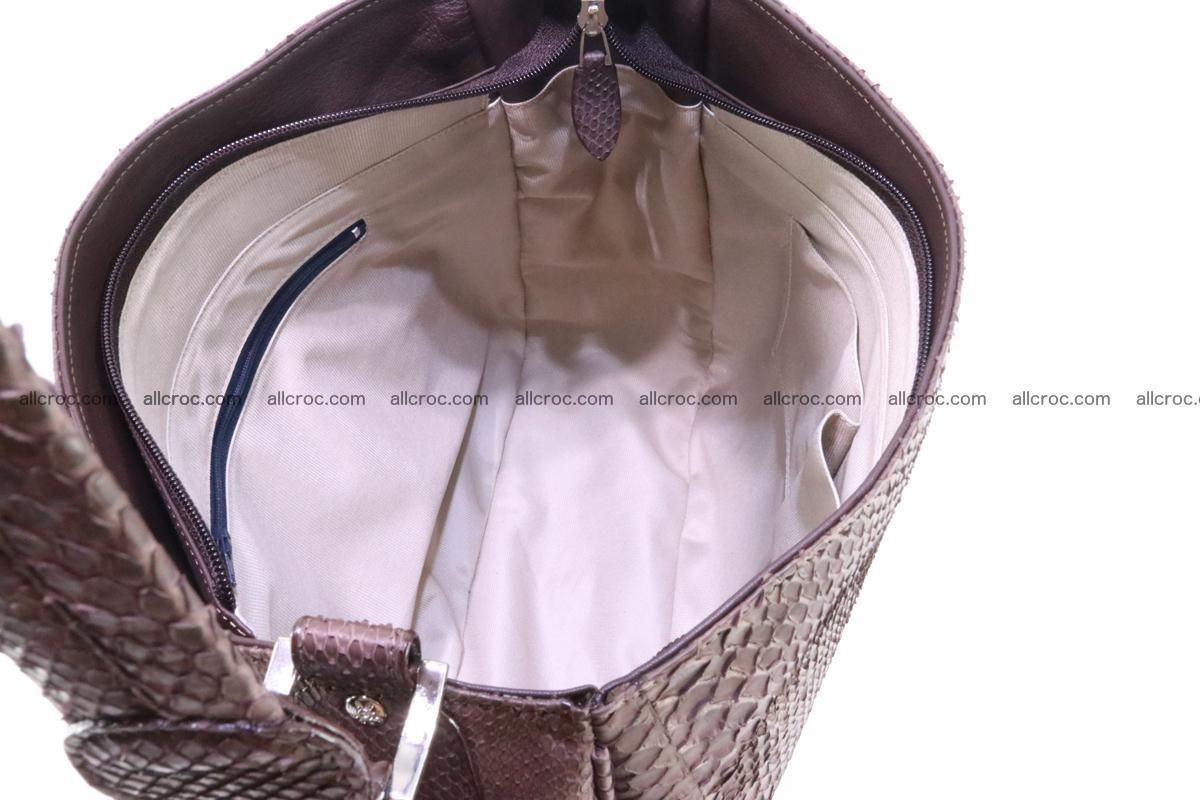 Python skin women handbag 261 Foto 11