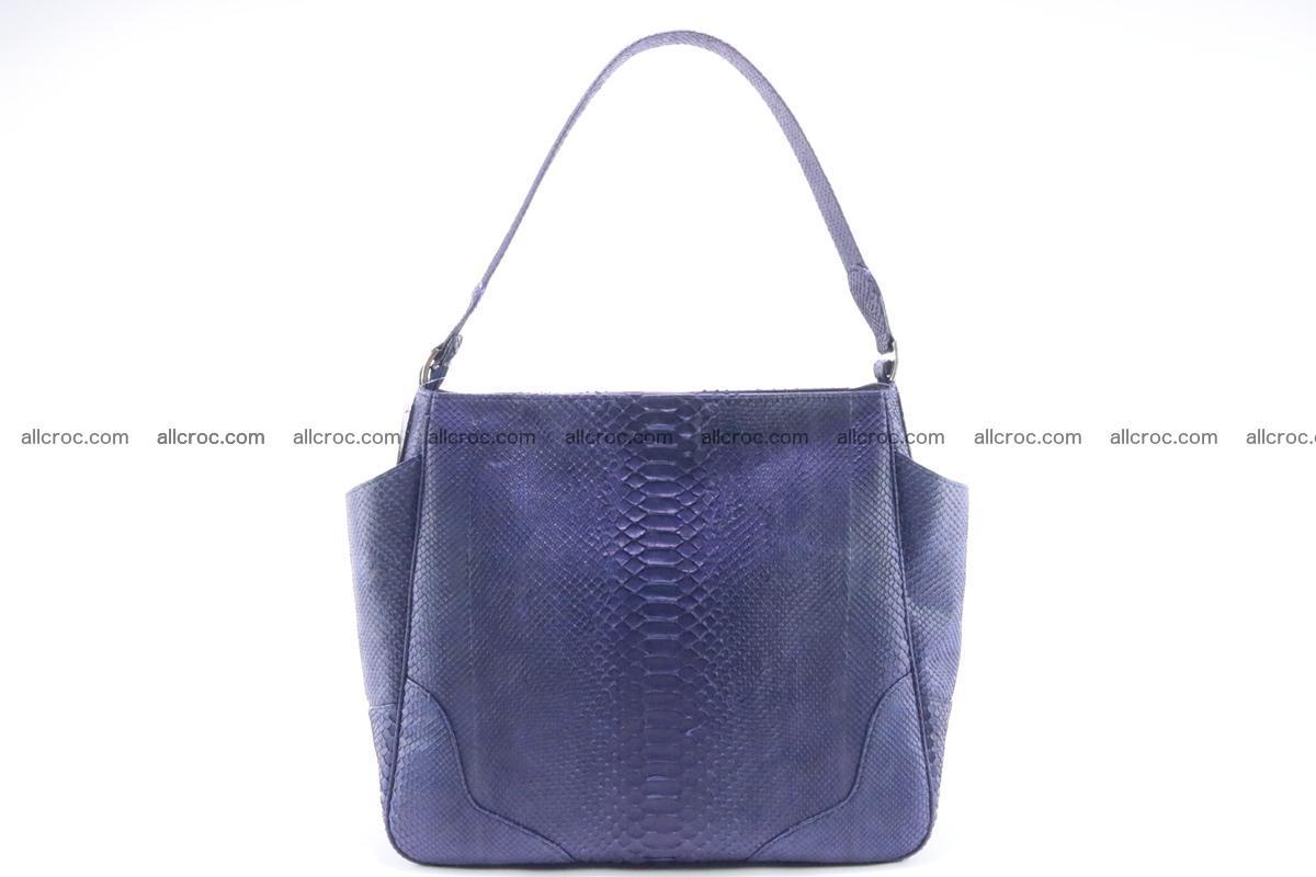Python skin women handbag 262 Foto 0