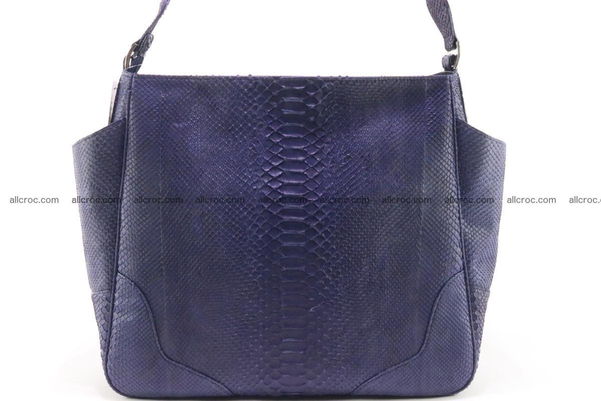 Python skin women handbag 262 Foto 1