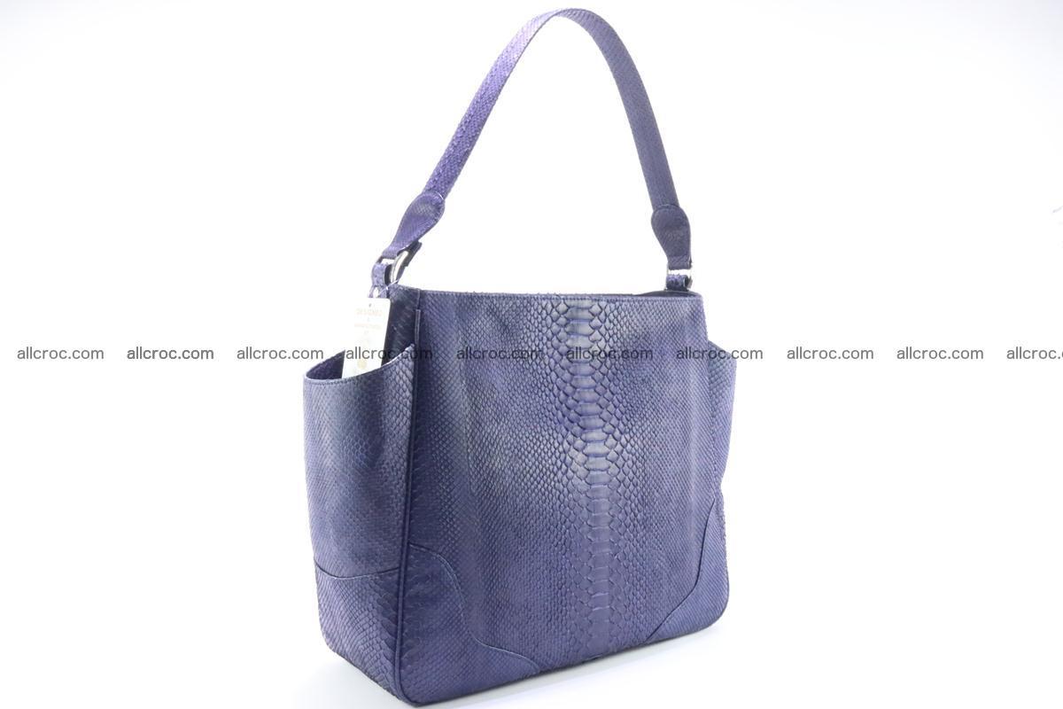 Python skin women handbag 262 Foto 2