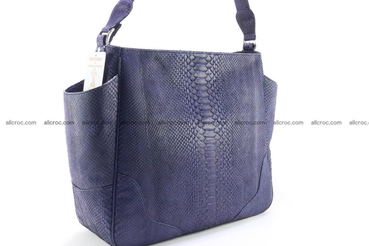 Python skin women handbag 262 Foto 3