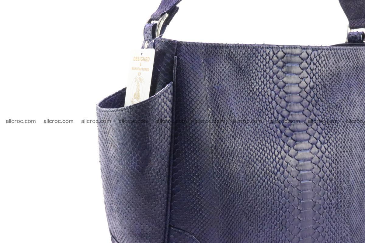 Python skin women handbag 262 Foto 4