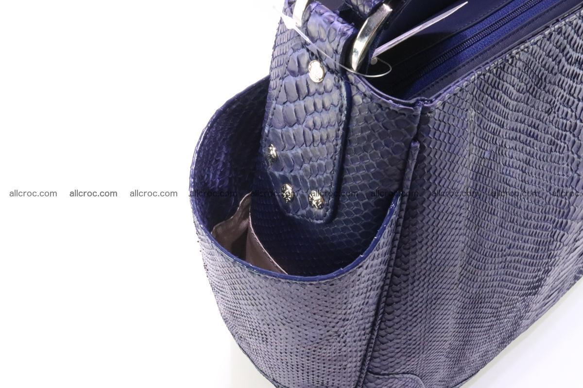 Python skin women handbag 262 Foto 5