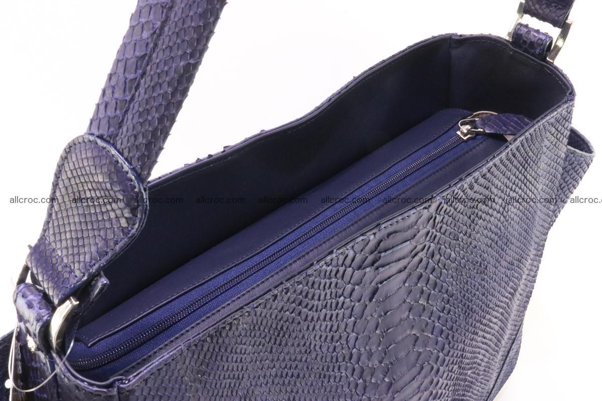 Python skin women handbag 262 Foto 7