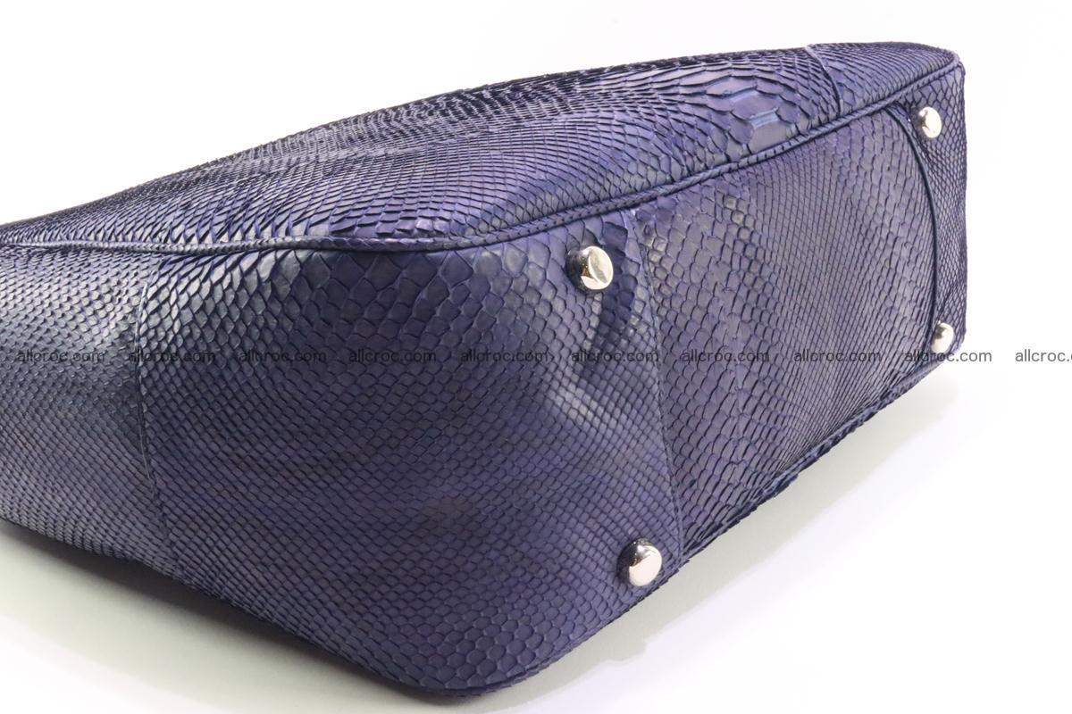 Python skin women handbag 262 Foto 8