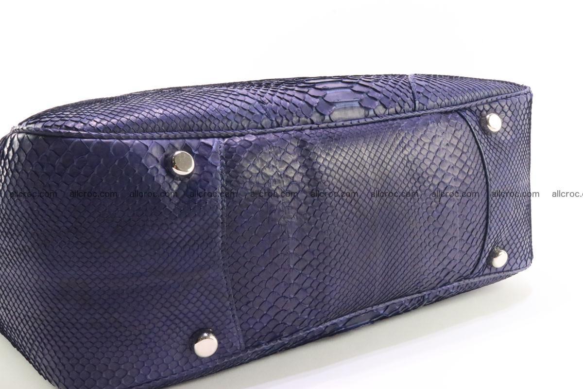 Python skin women handbag 262 Foto 9