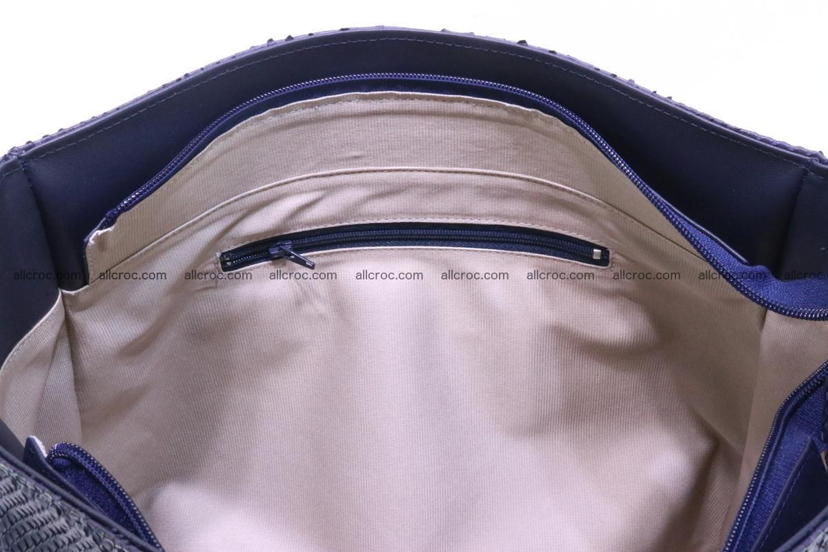 Python skin women handbag 262 Foto 11