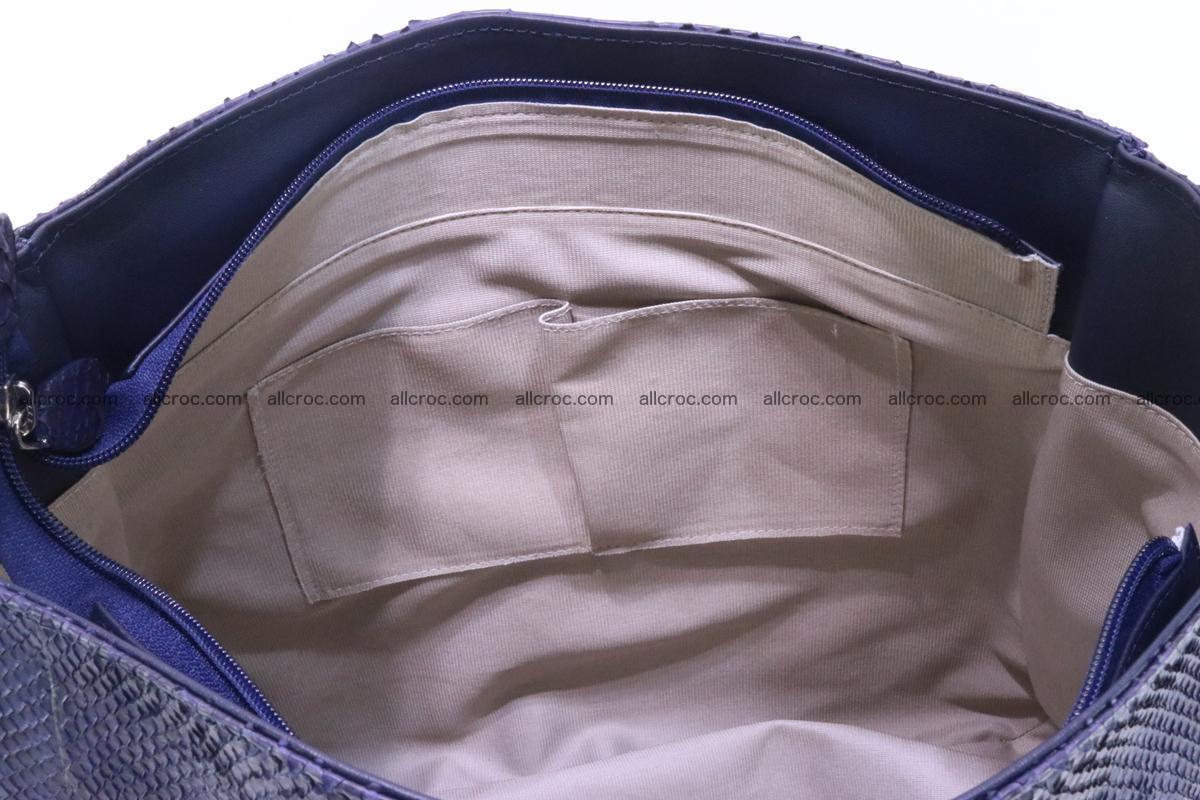 Python skin women handbag 262 Foto 10