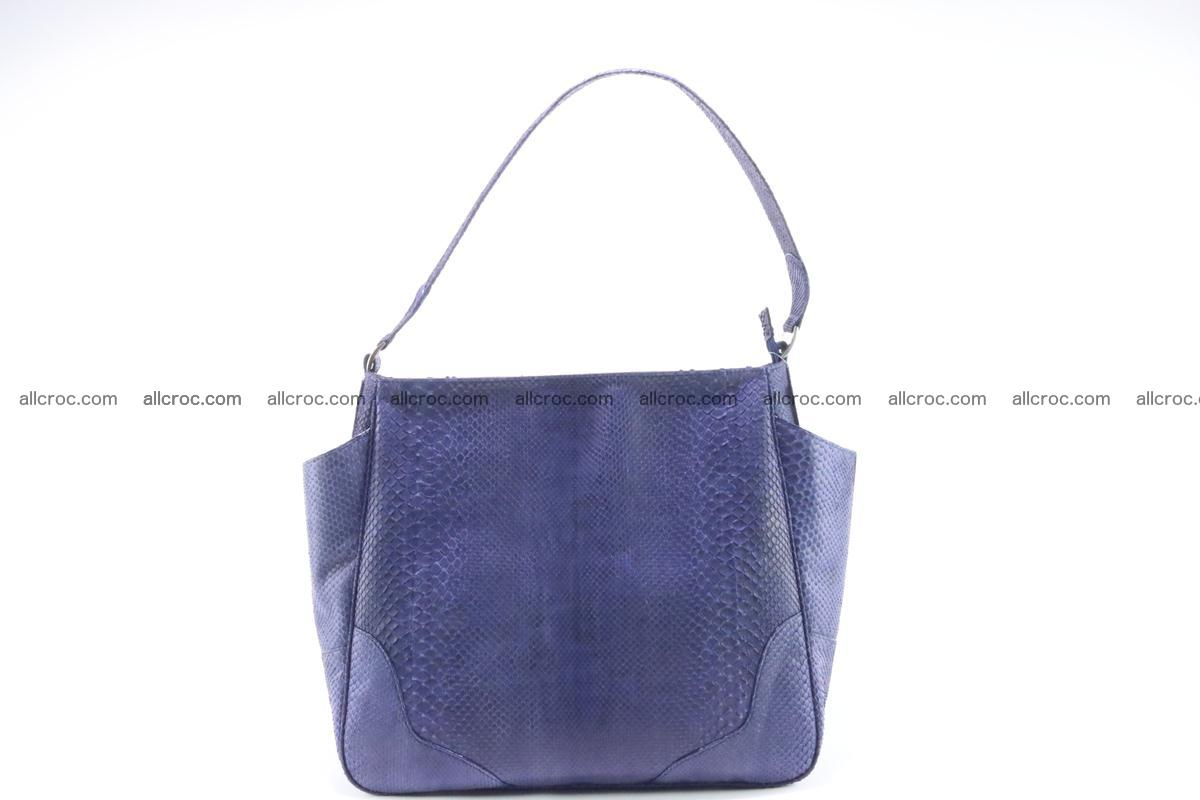 Python skin women handbag 263 Foto 0