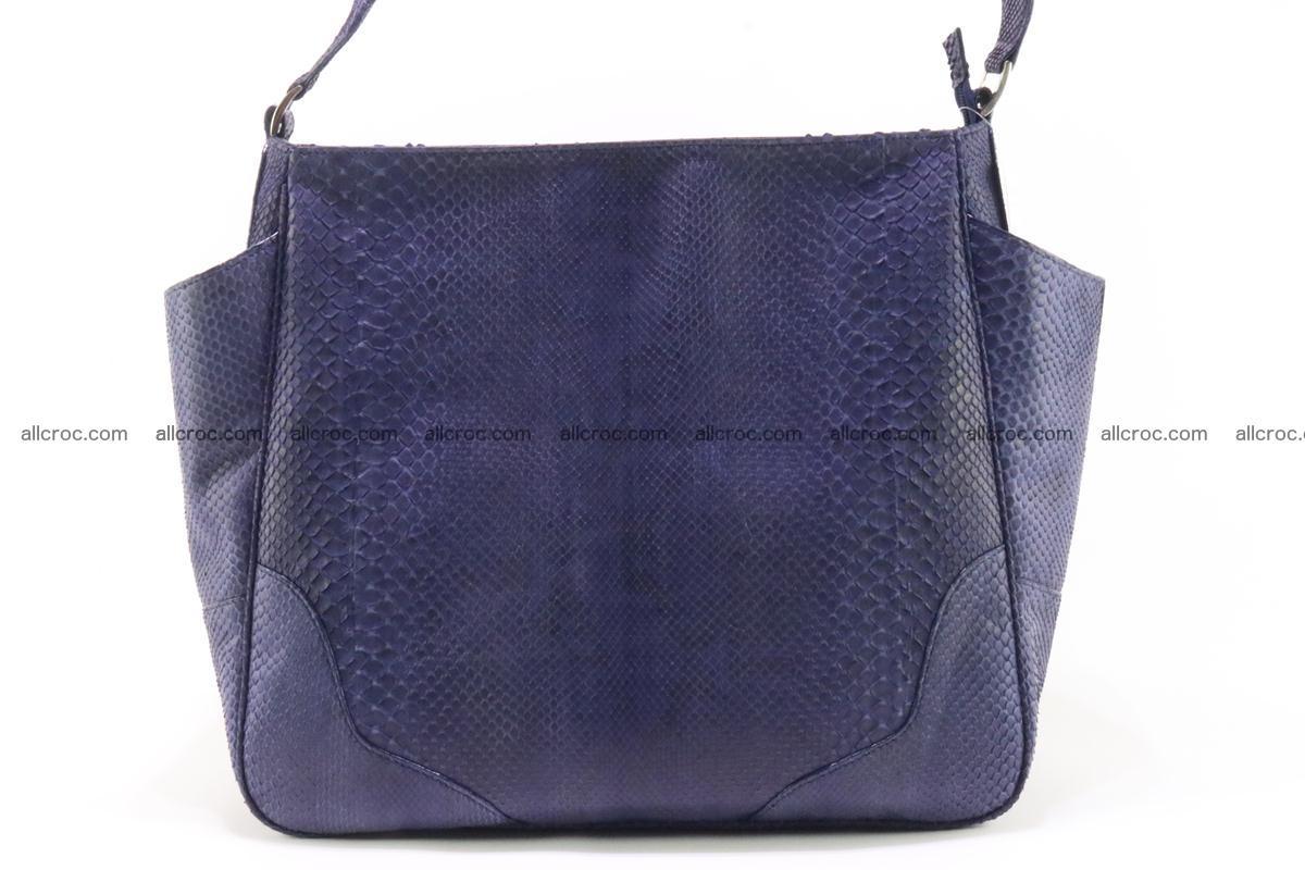 Python skin women handbag 263 Foto 1