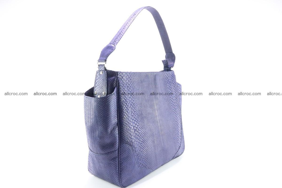 Python skin women handbag 263 Foto 3