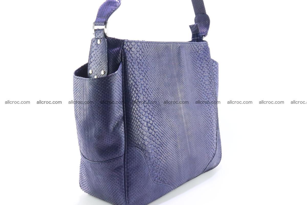 Python skin women handbag 263 Foto 2