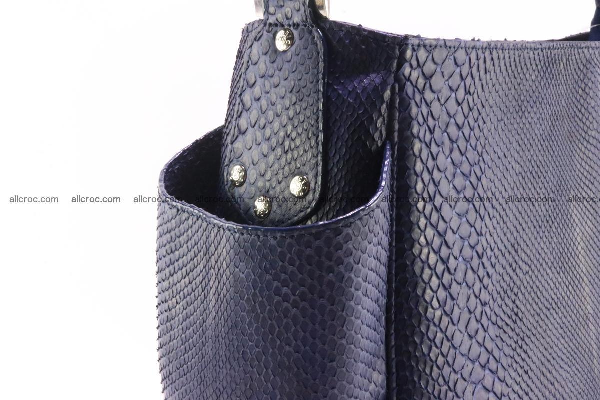 Python skin women handbag 263 Foto 5
