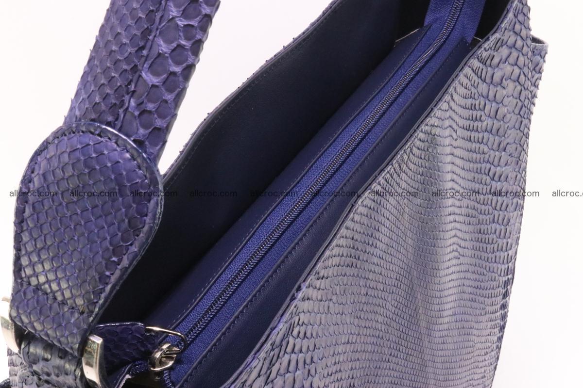 Python skin women handbag 263 Foto 6
