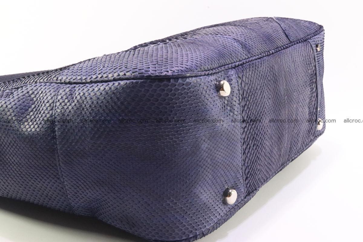 Python skin women handbag 263 Foto 8
