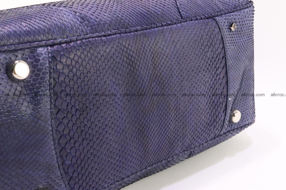 Python skin women handbag 263 Foto 7