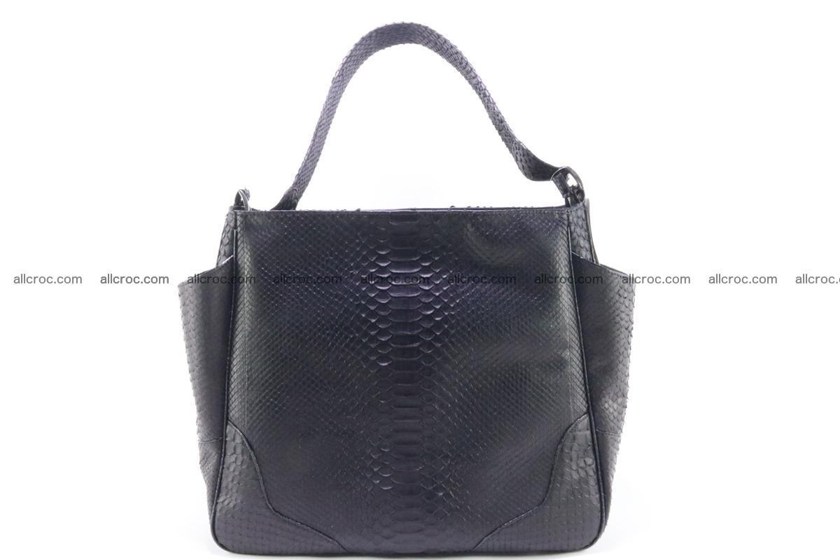 Python skin women handbag 264 Foto 0