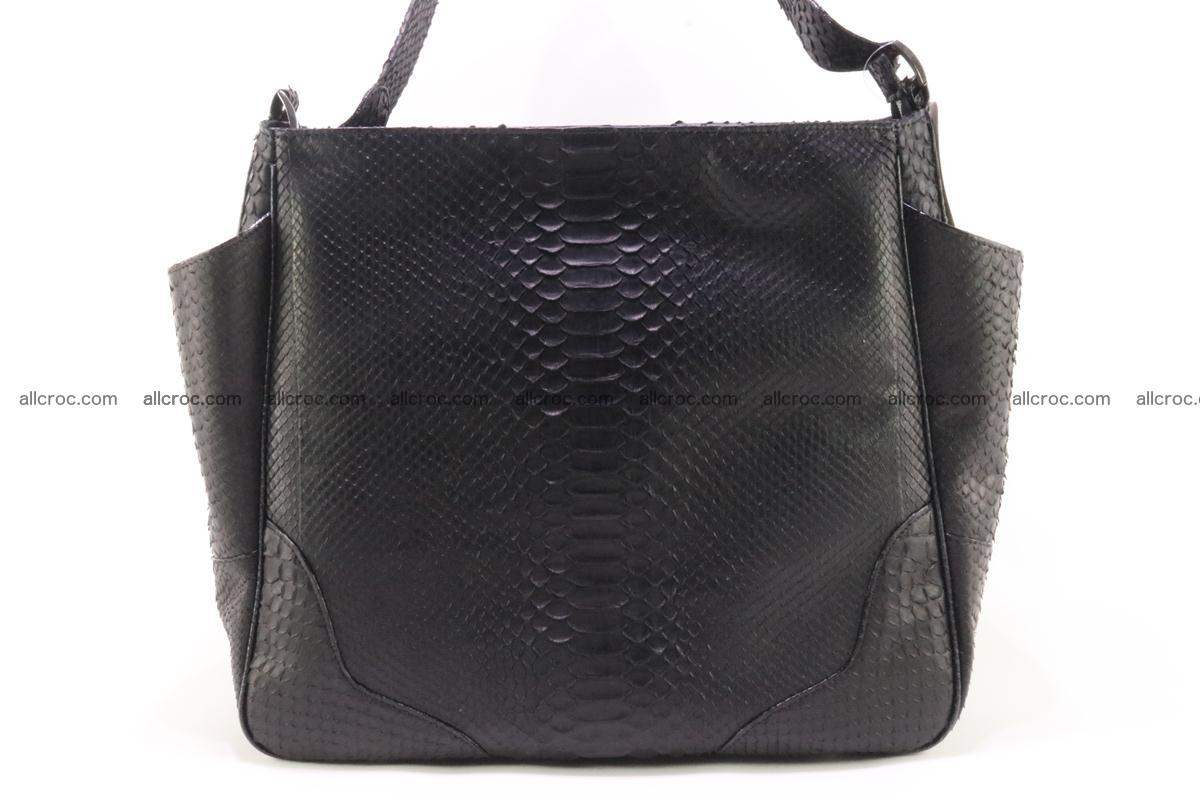 Python skin women handbag 264 Foto 1