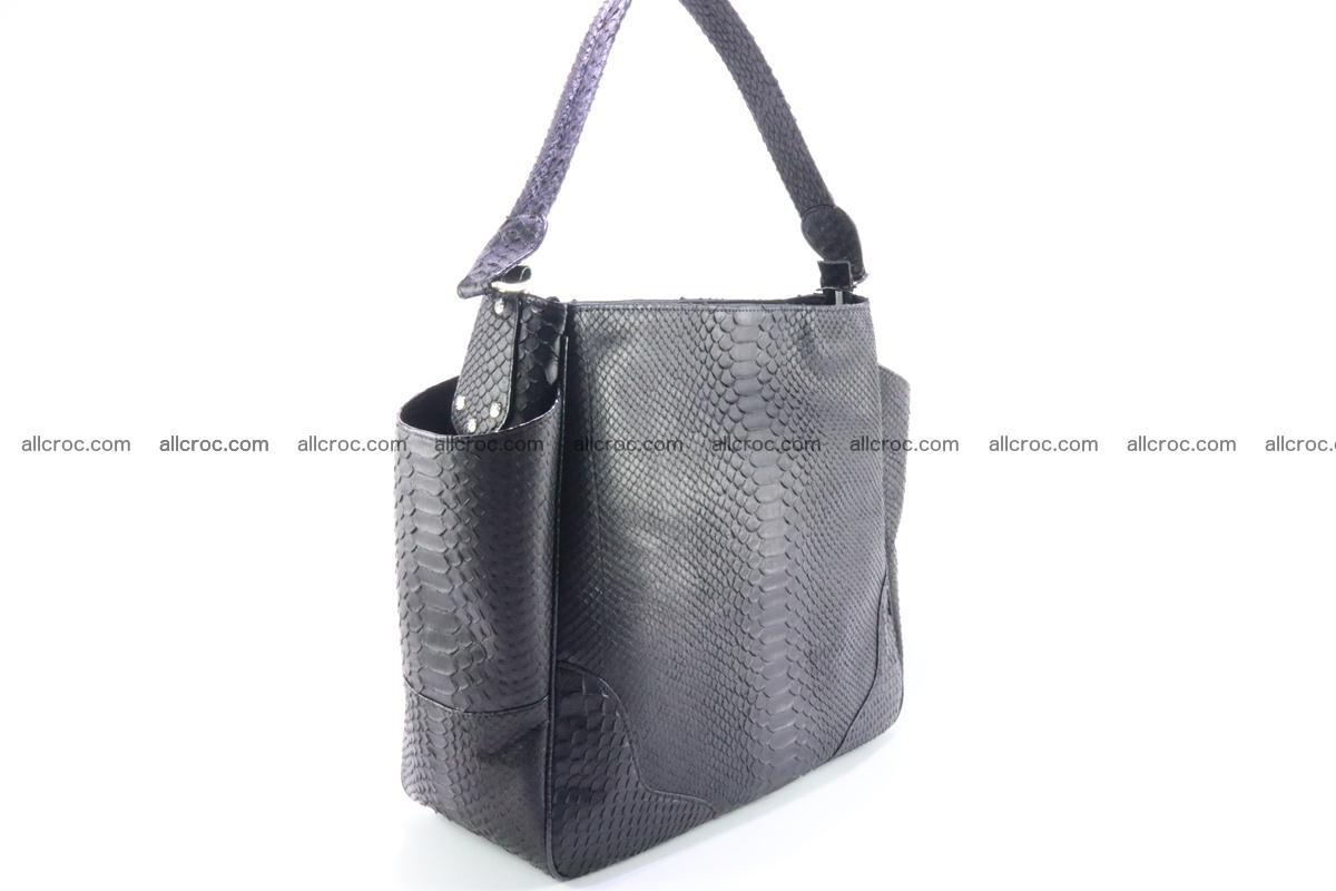 Python skin women handbag 264 Foto 3
