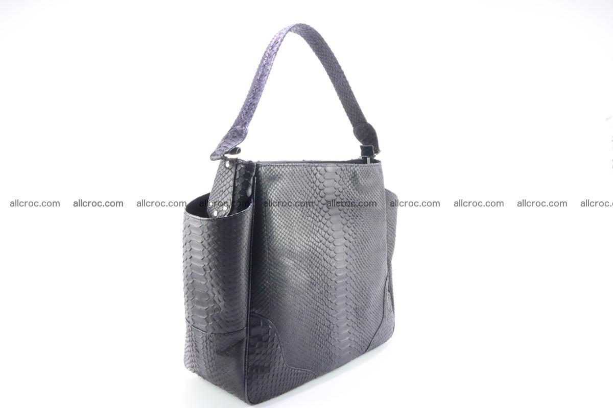 Python skin women handbag 264 Foto 4