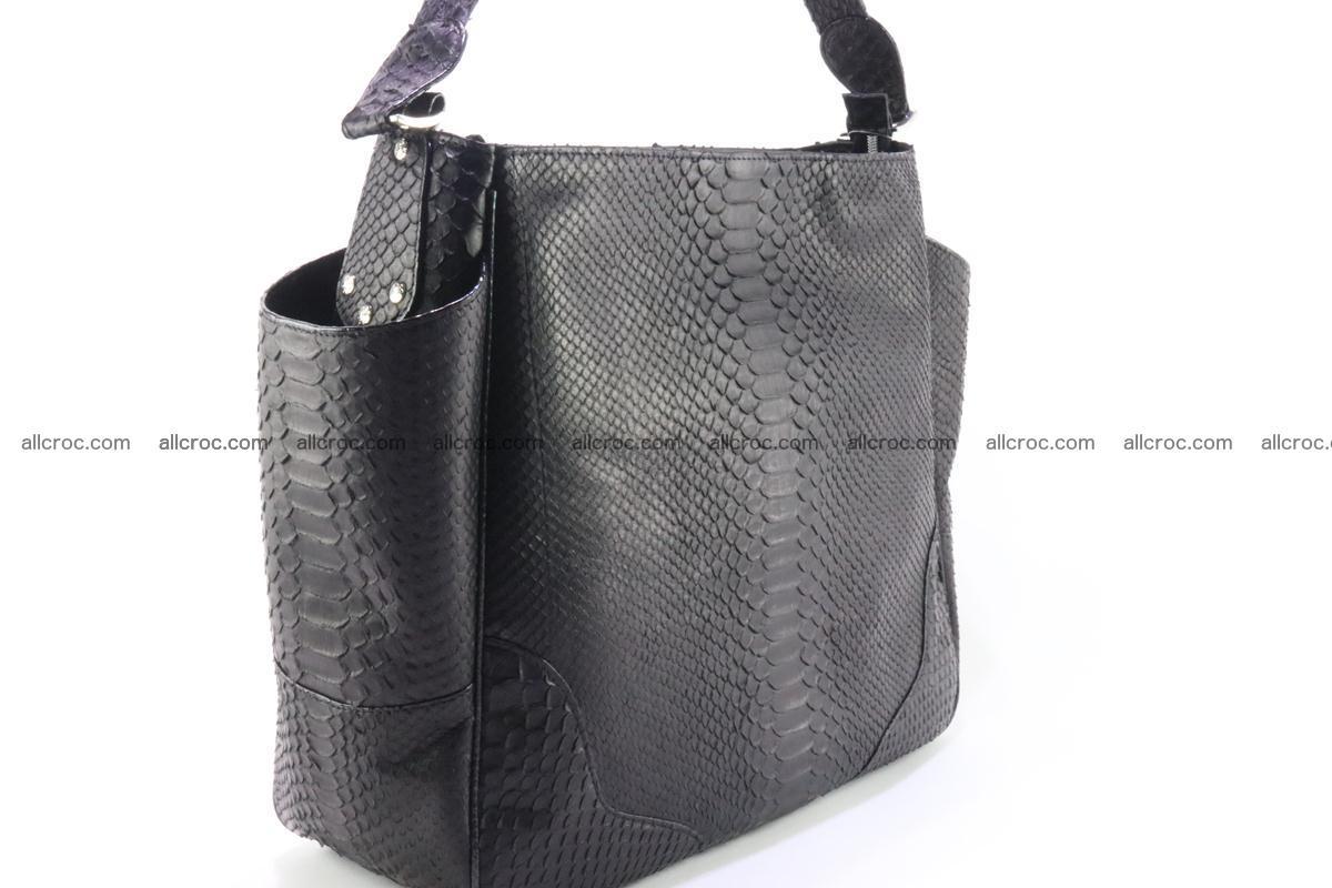 Python skin women handbag 264 Foto 5