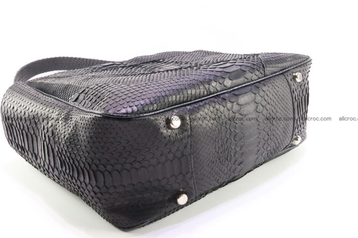 Python skin women handbag 264 Foto 7