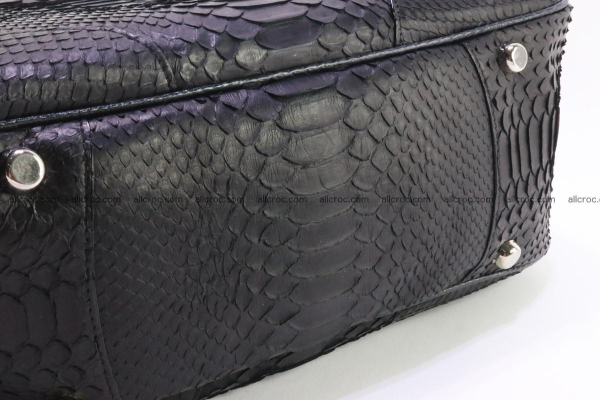 Python skin women handbag 264 Foto 10