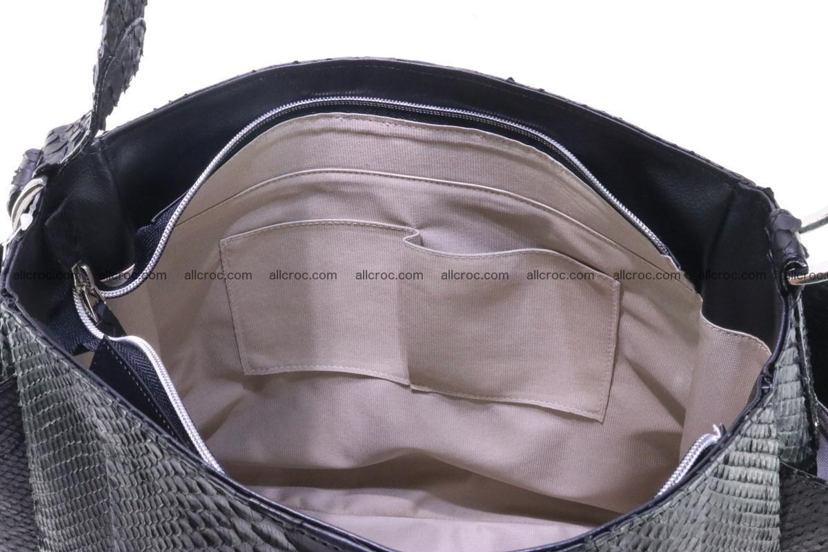 Python skin women handbag 264 Foto 13