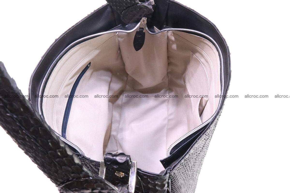Python skin women handbag 265 Foto 12