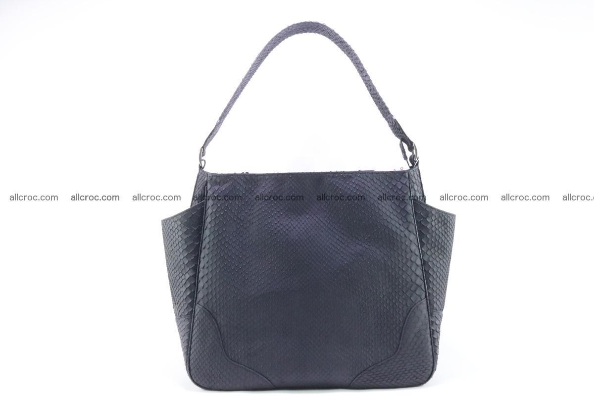 Python skin women handbag 265 Foto 0