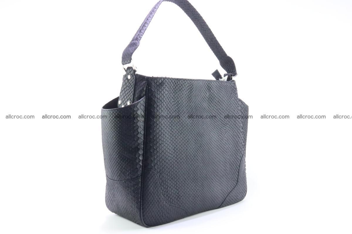 Python skin women handbag 265 Foto 3