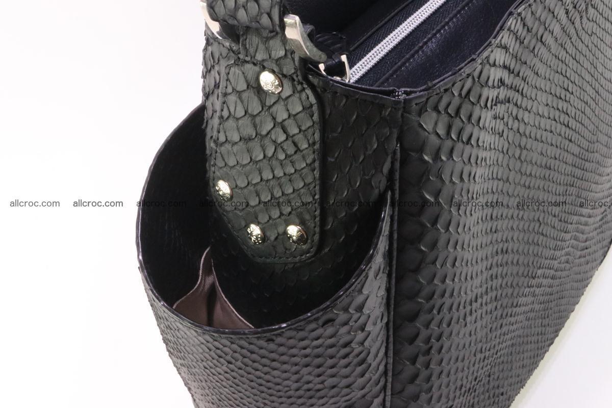 Python skin women handbag 265 Foto 9