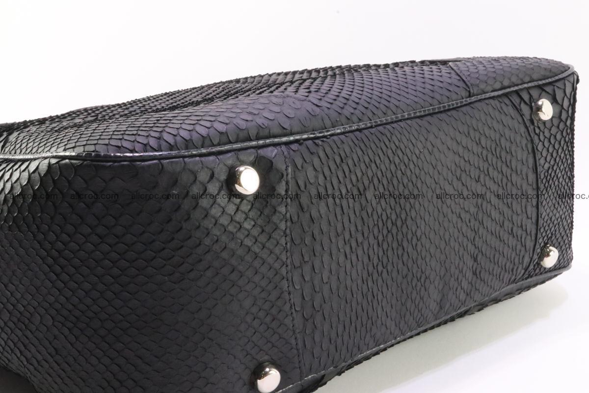 Python skin women handbag 265 Foto 10