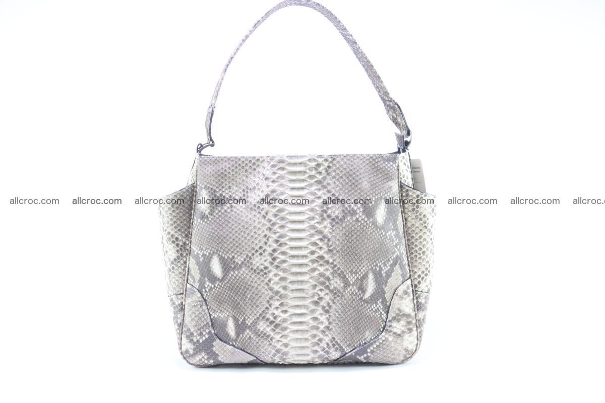 Python skin women handbag 266 Foto 1