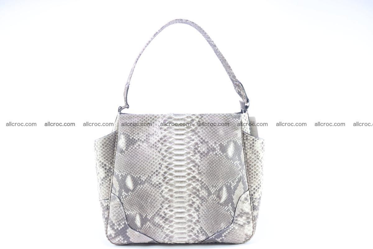 Python skin women handbag 266 Foto 0