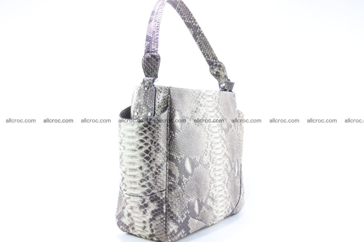 Python skin women handbag 266 Foto 4