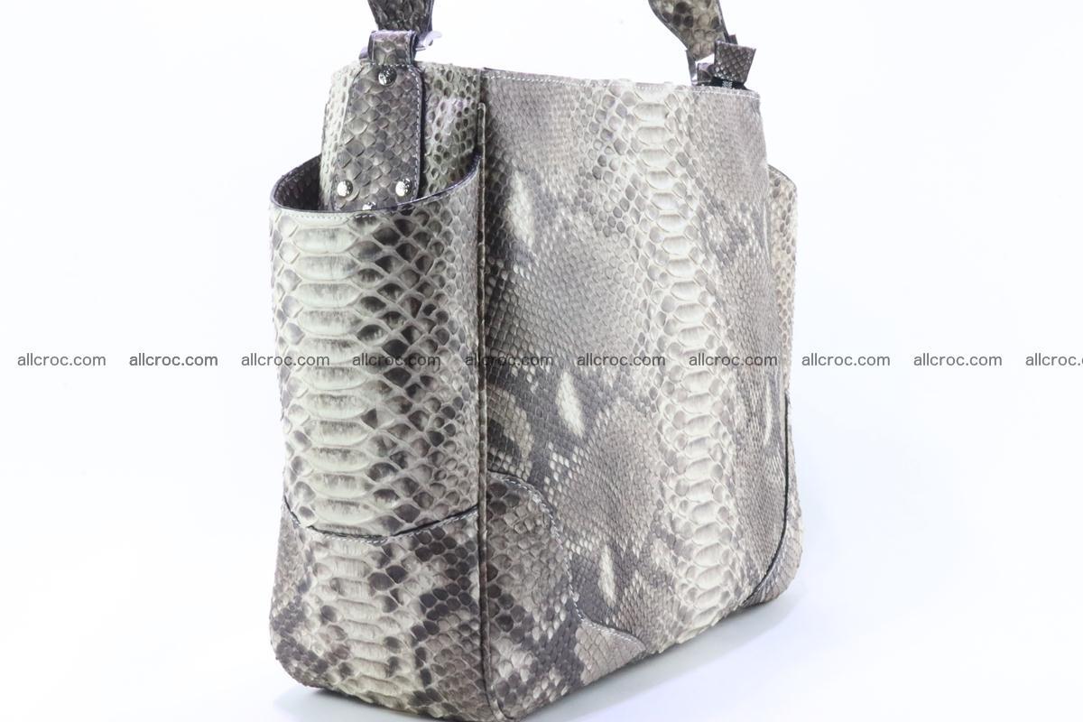 Python skin women handbag 266 Foto 3