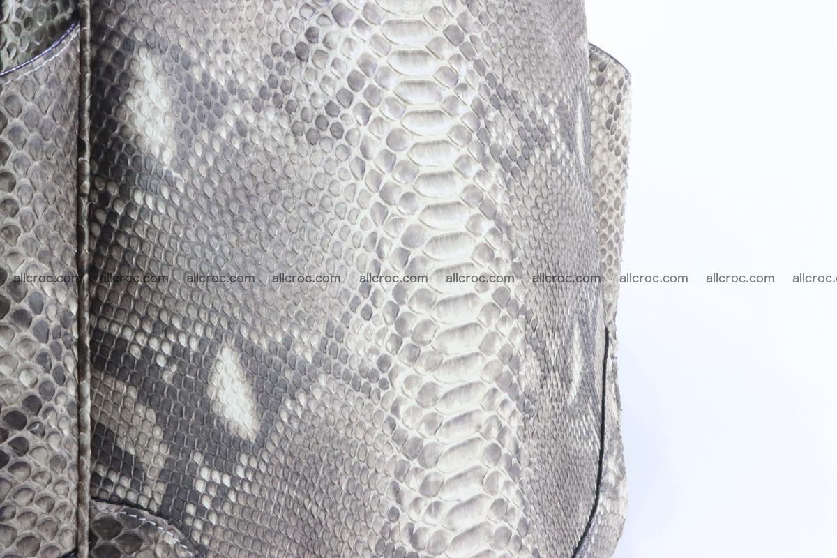 Python skin women handbag 266 Foto 9