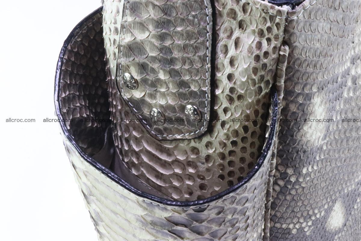 Python skin women handbag 266 Foto 7