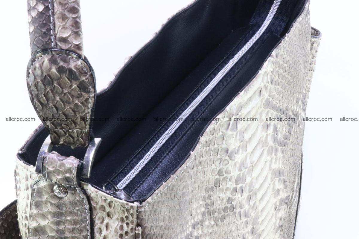 Python skin women handbag 266 Foto 6