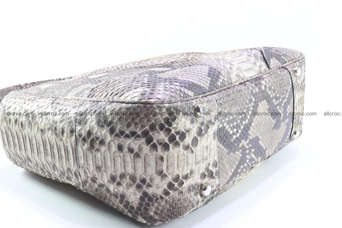 Python skin women handbag 266 Foto 8