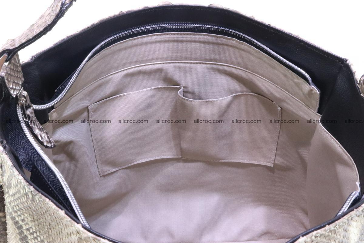 Python skin women handbag 266 Foto 12