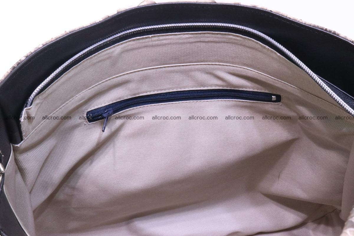 Python skin women handbag 266 Foto 11