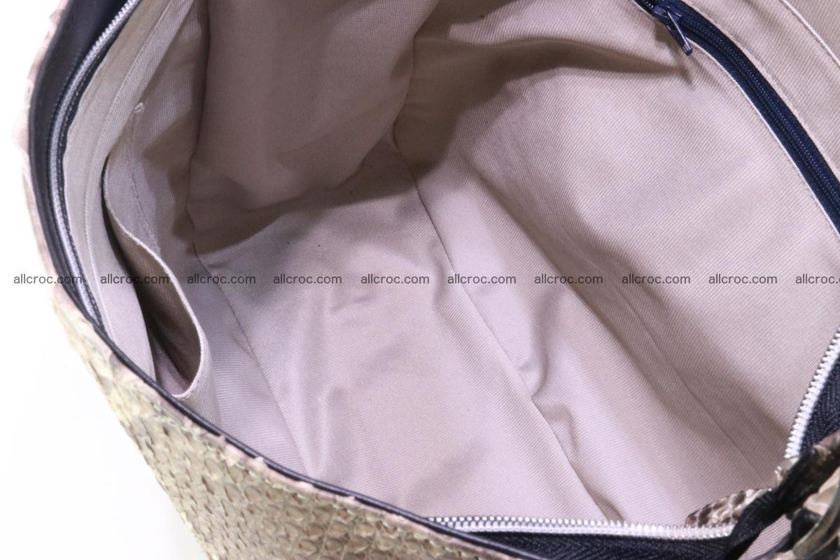 Python skin women handbag 266 Foto 10