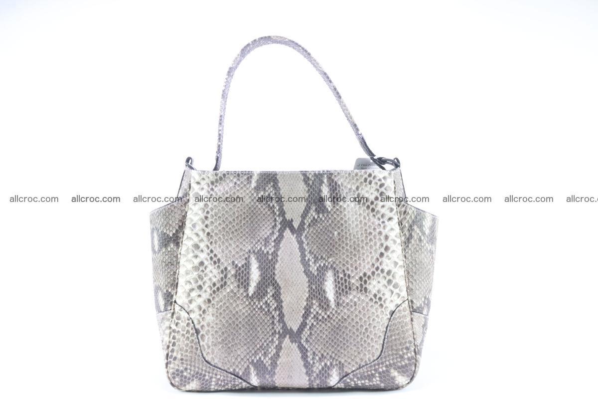 Python skin women handbag 267 Foto 0