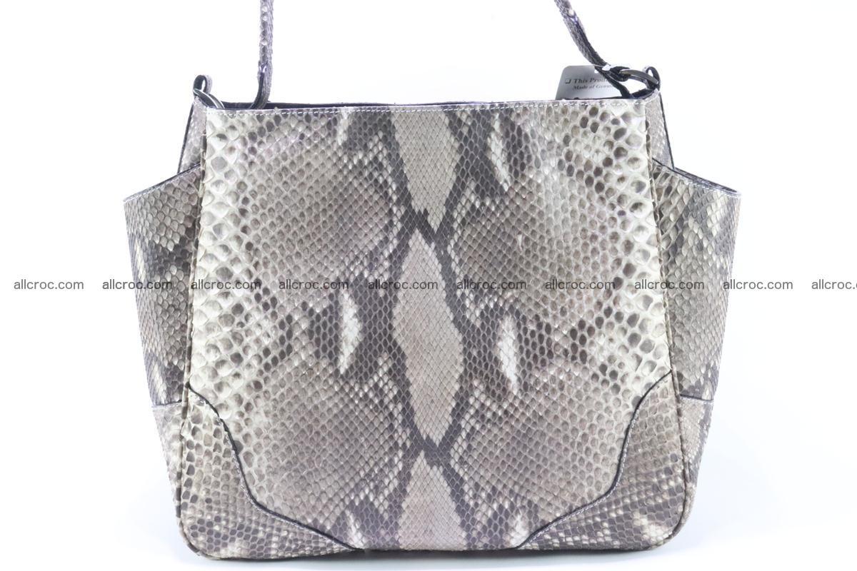 Python skin women handbag 267 Foto 1