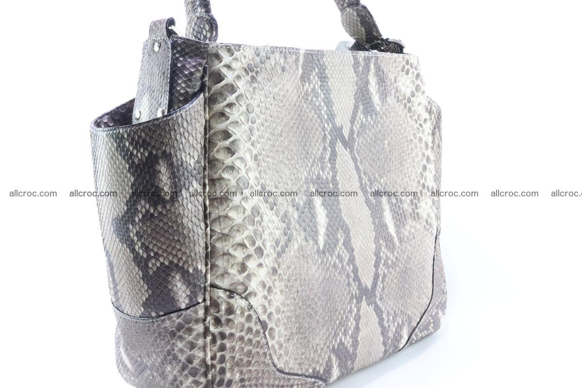 Python skin women handbag 267 Foto 4