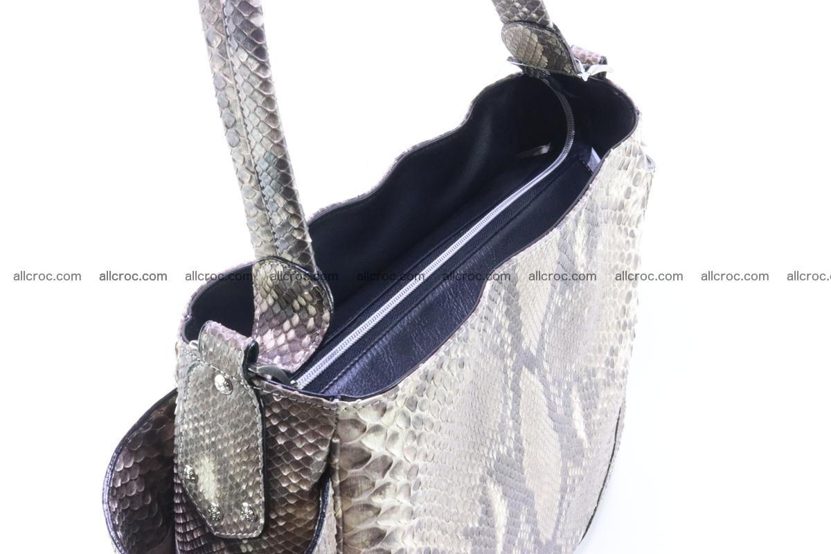 Python skin women handbag 267 Foto 3