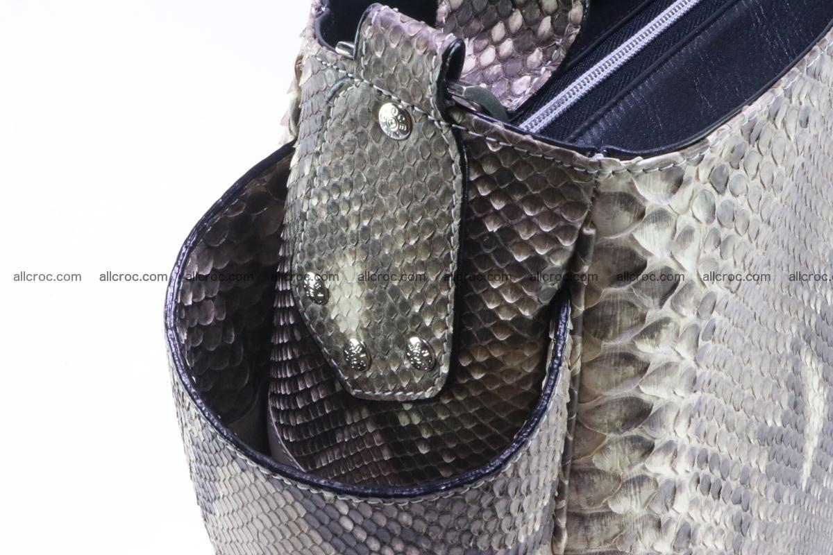 Python skin women handbag 267 Foto 6