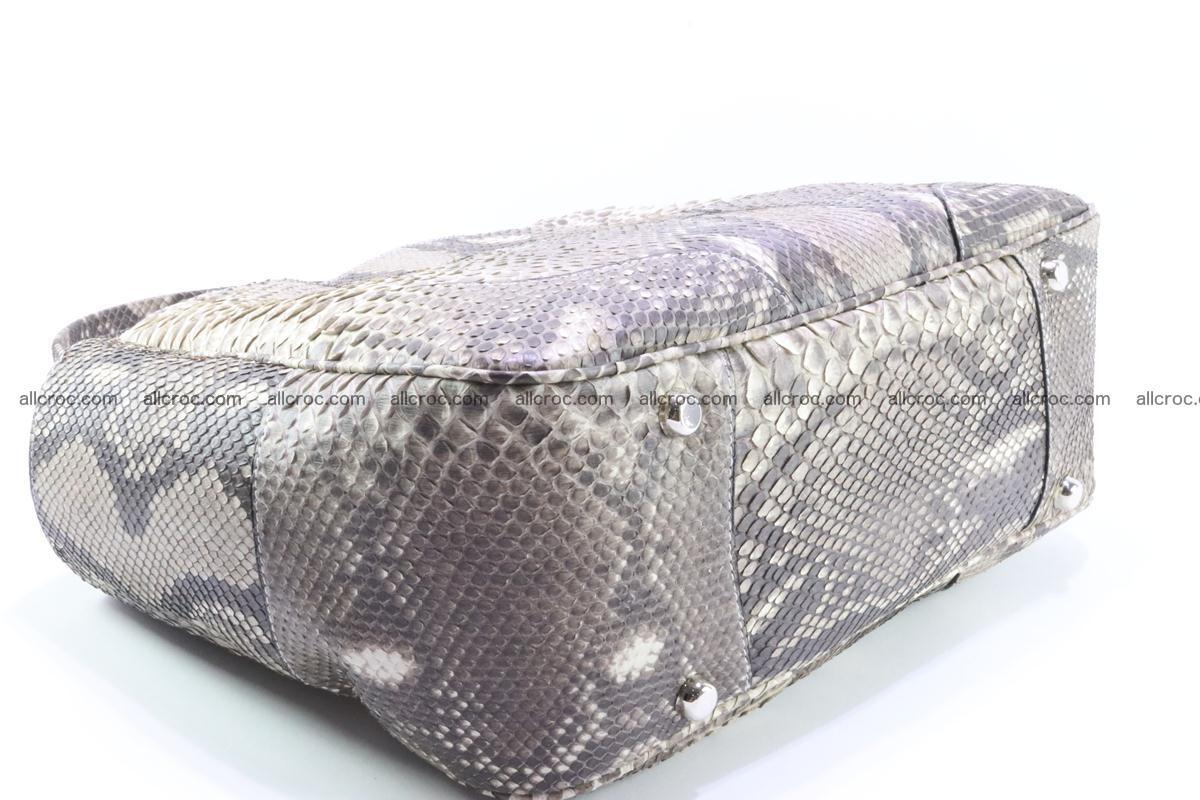 Python skin women handbag 267 Foto 7